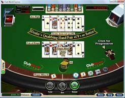 Play Caribbean Draw Poker now!