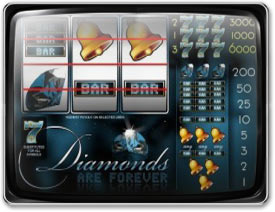 Play Diamonds Are Forever Slots now!