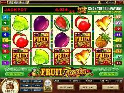 Play Fruit Fiesta Slots now!