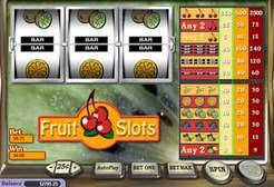 Play Fruit Slots now!