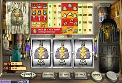 Play King Tuts Treasure Slots now!
