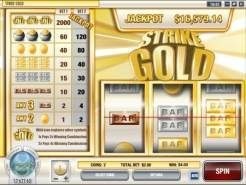 Play Strike Gold Slots now!