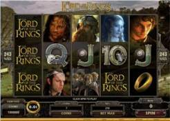Play The Lord of the Ring Slots now!