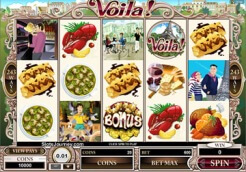 Play Voila! Slots now!