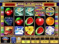 Play Wheel of Wealth Slots now!