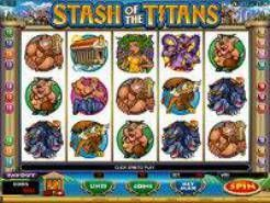 Play Stash of the Titans Slots now!