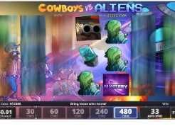 Cowboys vs Aliens Slots